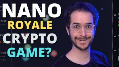 NanoRoyale Review - Cryptocurrency Battle Royale Agar.io Game?