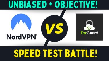 NordVPN vs TorGuard Speed Test Results - Objective Unbiased Live Test!