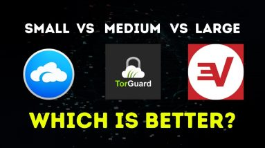 Small VPN vs Medium VPN vs Biggest VPN - Which Should You Use?